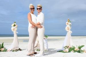 Hochzeitspaar-Strand