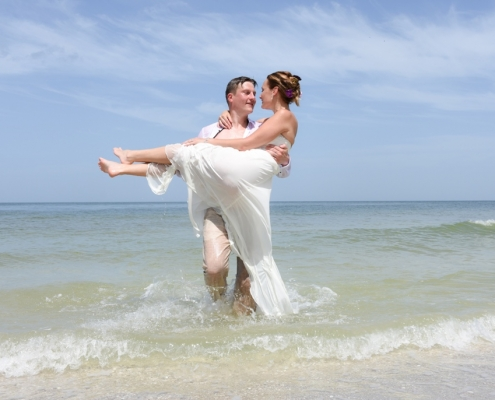 Florida Barfuss Heiraten