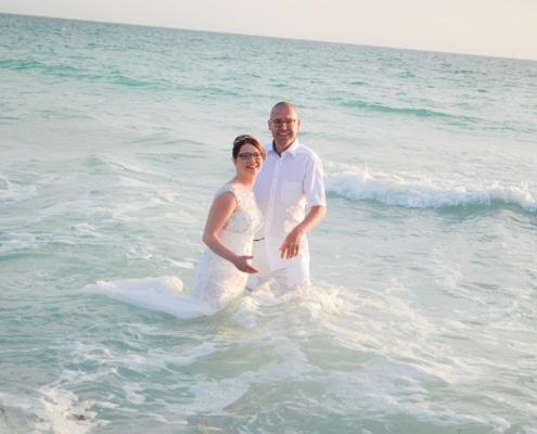 Hochzeit im Meer