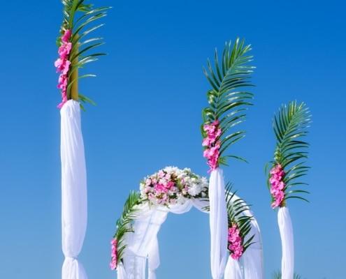 tropisch heiraten florida