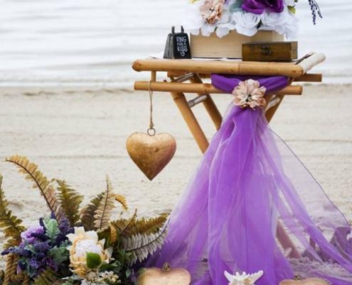 Cape Coral Beach Hochzeit