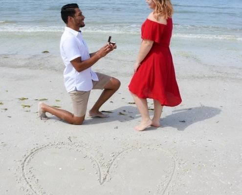 Heiratsantrag in Florida