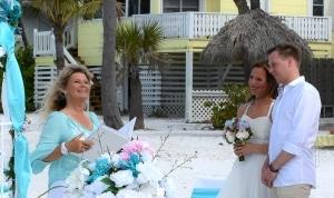 Hochzeit-Florida-Hochzeitspaar