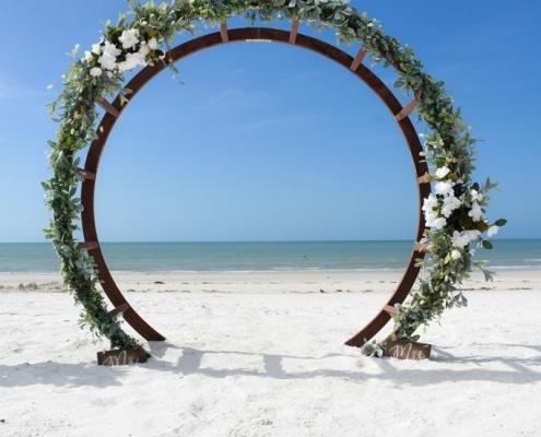 Hochzeitsbogen-Florida-Strand