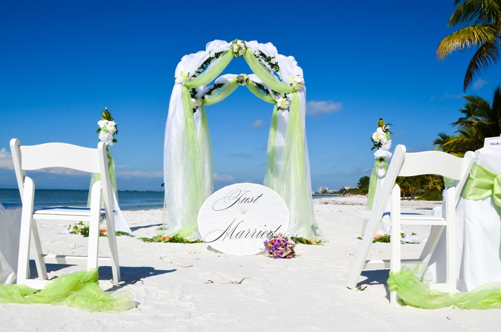 Royal Gazebo Wedding Florida