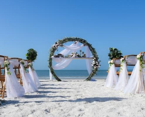Traumhochzeit-Dekoration-Florida