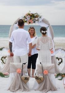 Trauung-Paar-Hochzeit