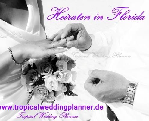 Heiraten in Florida mit Weddingplanner